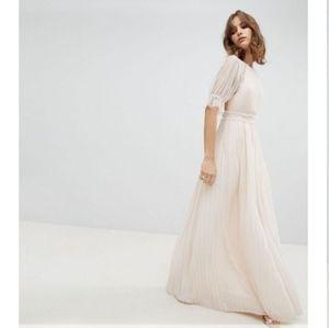 NWT ASOS TFNC Maxi dress